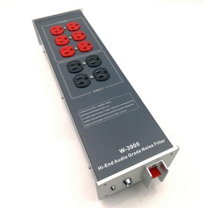 Image 2 - ミストラルwaudio W 3900ハイエンドオーディオノイズフィルタac電源パワーフィルター電源清浄機米国電源ストリップ