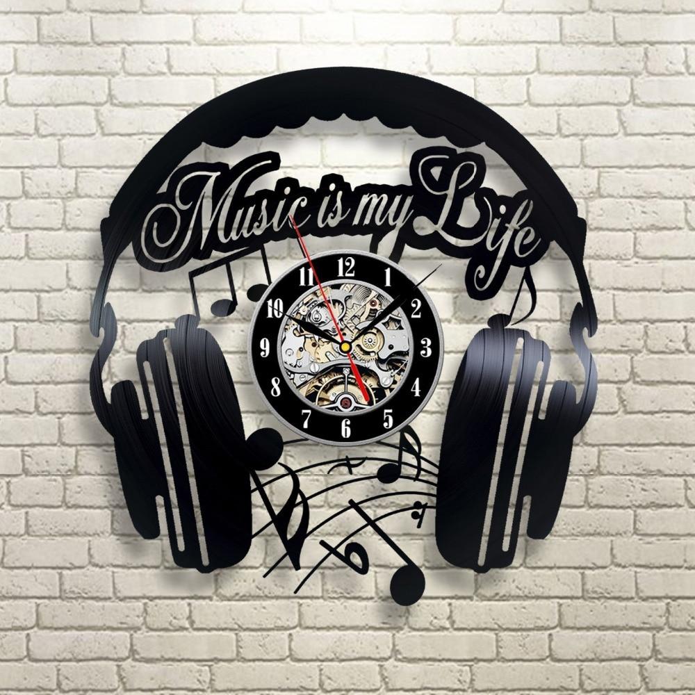 aliexpress com   buy cd vinyl record wall clock modern