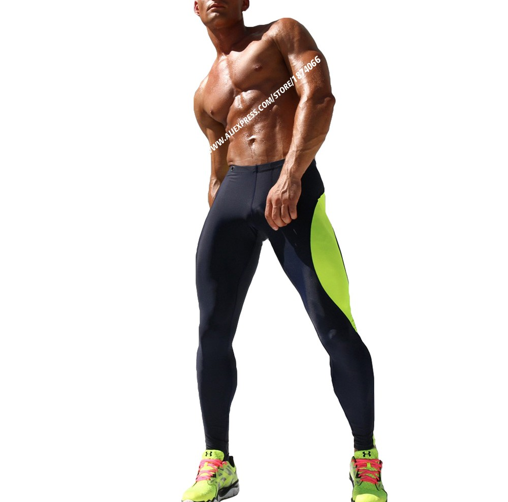 Aimpact Sexy Fashion Skinny Men Sport Pants Athletic Slim Fitted Running Men's Pants Gym Strip Sexy Tight Causal Sweatpants AQ17 (7)