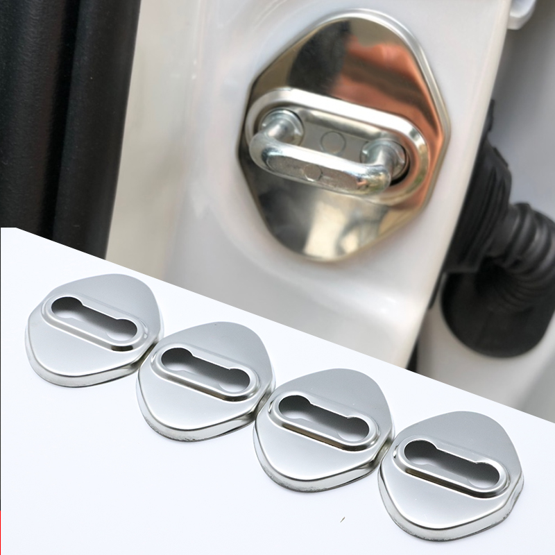 Excellent Stainless Steel Door Lock Buckle Protective Cover Auto Case For Mazda MX-5 MX5 MX 5 NB NC ND Car Styling