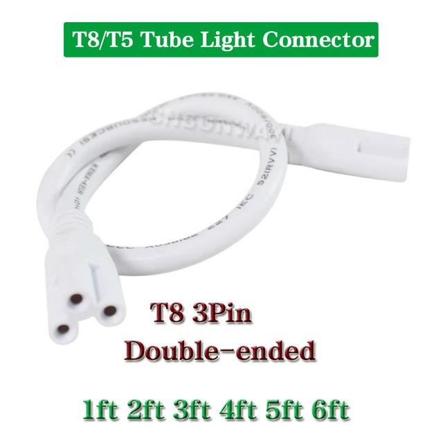 T8 T5 Integrierten Led röhren Lampe doppelseitige 3PIN Drähte ...