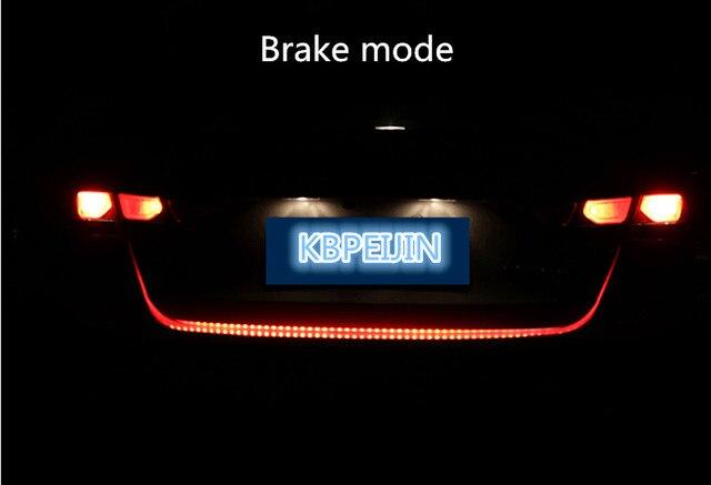 120cm Car Styling Car Led Warning Light Signal Lamp Sticker For