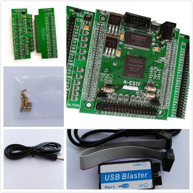 E15  altera fpga board altera board fpga development board EP4CE15f17C8N NIOS II board+ SDRAM +USB DC-5V POWER rq ax7102 a7 fpga development board artix 7 xc7a100t 2fgg484i with 8gb ddr3 128m flash jtag