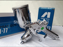 Japan Made Anest Iwata W 77 Manual Spray Gun car paint sray gun w 77Gravity Type