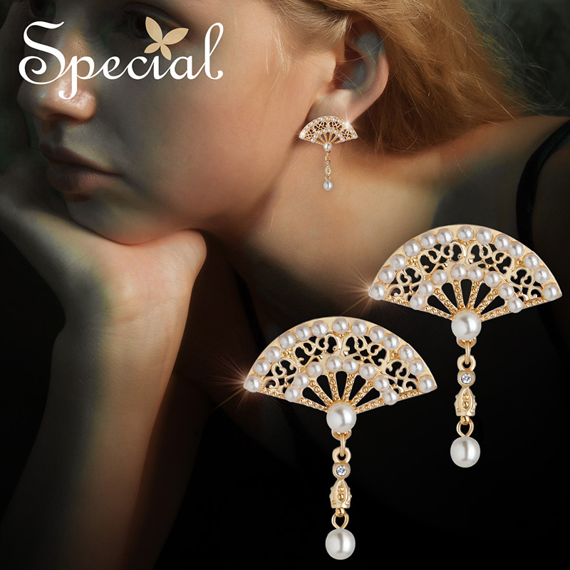 The SPECIAL Brand sterling 925 silver needle classical earrings for women new collction S2165E