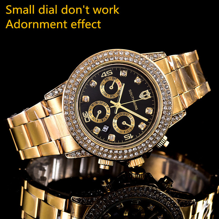 Luxury Brand Ladies Watches Square Full Diamond Gold Watch Rhinestone Women Swiss Designer Wristwatches Bracelet Clock