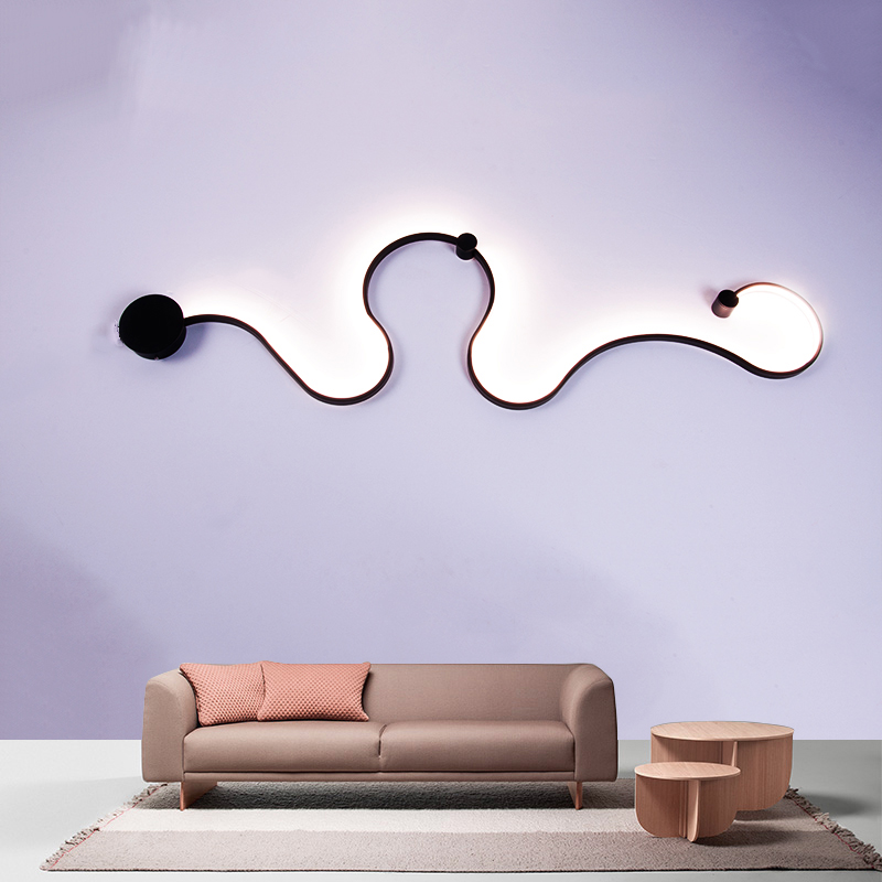 Creativity Modern LED Wall Lamps home lighting Wall Lights For Bed Room living room dining room lamparas de pared sconce