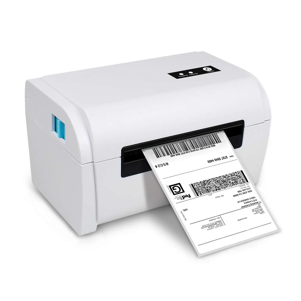 NETUM Thermal Label Printer with High Quality 110mm 4 inch A6 Label Barcode Printer USB Port Work with paypal Etsy Ebay USPS Under-cabinet lighting