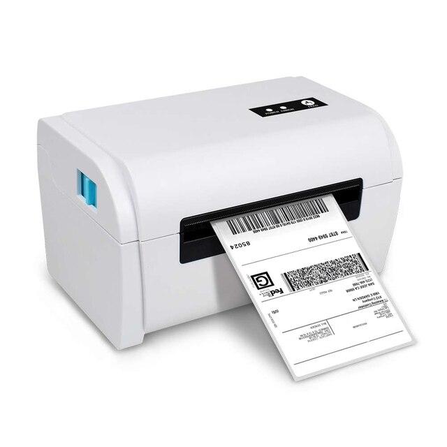 NETUM תרמית תווית מדפסת עם גבוהה באיכות 110mm 4 אינץ A6 תווית ברקוד מדפסת USB יציאת עבודה עם paypal etsy Ebay USPS