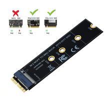 M.2 NVMe SSD Chuyển Đổi Adapter Thẻ Cho Macbook Air Pro Retina 2013 2017 NVMe/Ahci SSD Nâng Cấp Bộ cho A1465 A1466 A1398 A1502