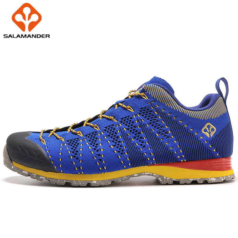 SALAMANDER Lightweight Breathable Fabric Running Shoes Men Women Sport Shoes Summer Outdoor Sneakers Brand New Run Shoes Women peak sport speed eagle v men basketball shoes cushion 3 revolve tech sneakers breathable damping wear athletic boots eur 40 50