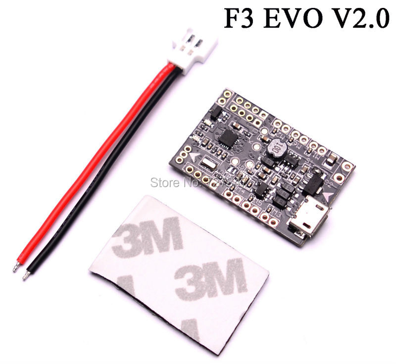 Micro 32bits F3 EVO V2.0 Brushed 3g Flight Control Board Based On SP RACING F3 EVO naza m v2 flight control