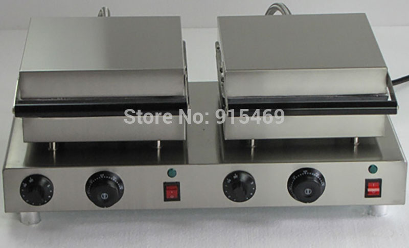 Free Shipping 2 in 1 Waffle Baking System 110v 220v Electric Commercial Butterfly on A Stick and Waffle Maker