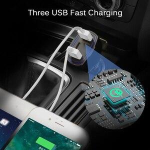 Image 4 - 빠른 충전 3.0 자동차 충전기 5 v 3.5a qc3.0 pd usb 유형 c 빠른 충전 듀얼 자동차 휴대 전화 충전기 아이폰 7 삼성 xiaomi