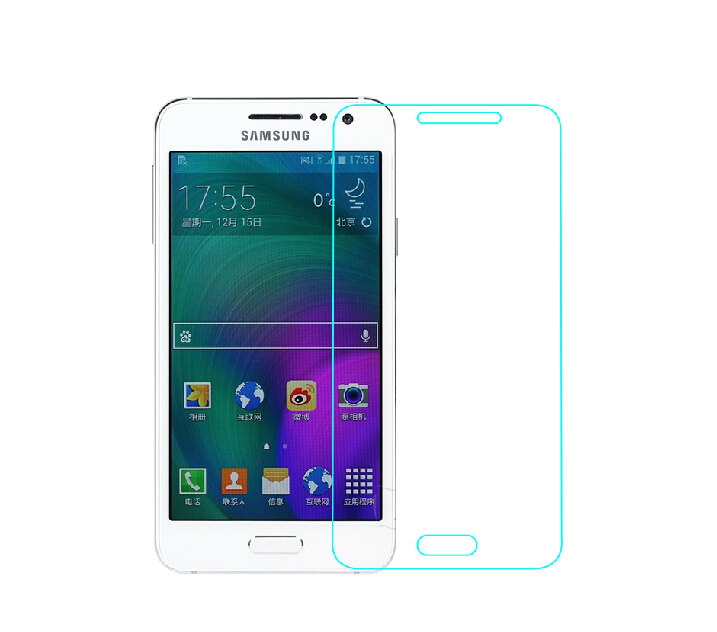 A3 A300F A300FU A300M A300H DUOS Glass Film 9H Round Edge High Definition Screen protector Tempered for Samsung Galaxy