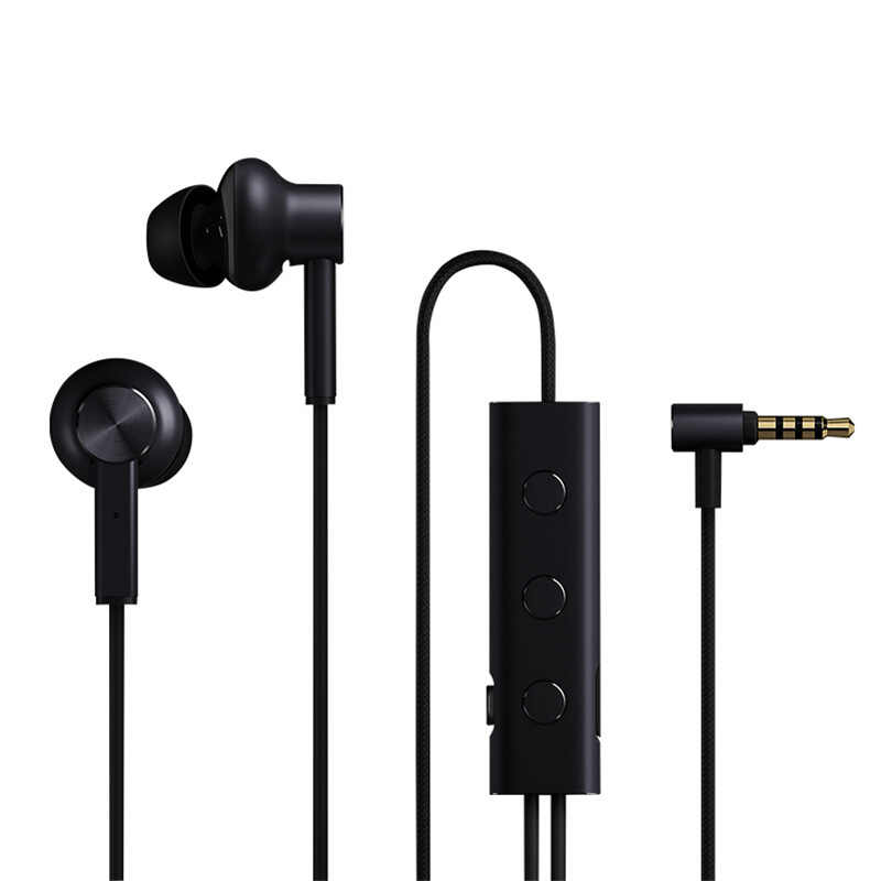 Xiaomi 3.5 mm ANC Earphones Hybrid 3 Unit 2 Grade Noise Cancel Active Noise Cancelling Wired Metal Clamp Hi-Res Earphones
