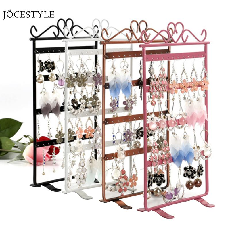 Earrings Necklace Jewelry Stand Holder Display Rack Simple Style Metal Stand Holder Display Shelf Jewelry Stand Holder