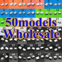 Горячая продажа 50 моделей зарядный разъем micro usb разъем для samsung ASUS SONY hp htc ZTE Huawei Xiaomi Redmi Lenovo динамик Gionee