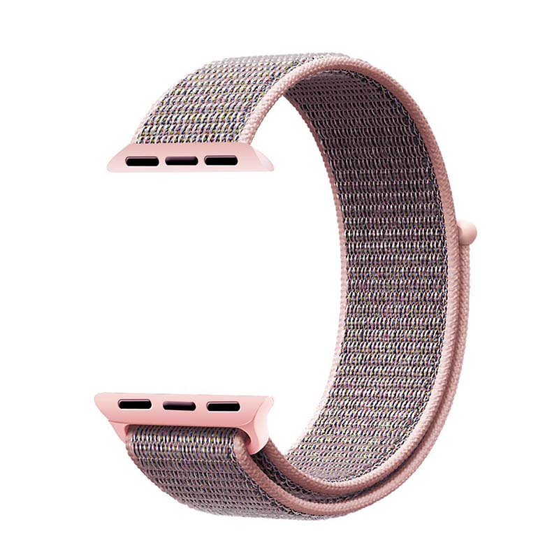ThorMax sport woven nylon loop strap for apple watch band wrist braclet belt fabric-like nylon band for iwatch1 2 3 NY1007