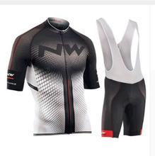 2019 NW Northwave Лето Велоспорт Джерси Набор для мужчин короткий рукав Быстросохнущий велосипед MTB велосипедная одежда дорожная езда Одежда для мужчин