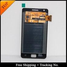 送料無料 100% テストされサムスン S2 I9100 液晶 S2 プラス i9105 ディスプレイ液晶画面タッチデジタイザーアセンブリ