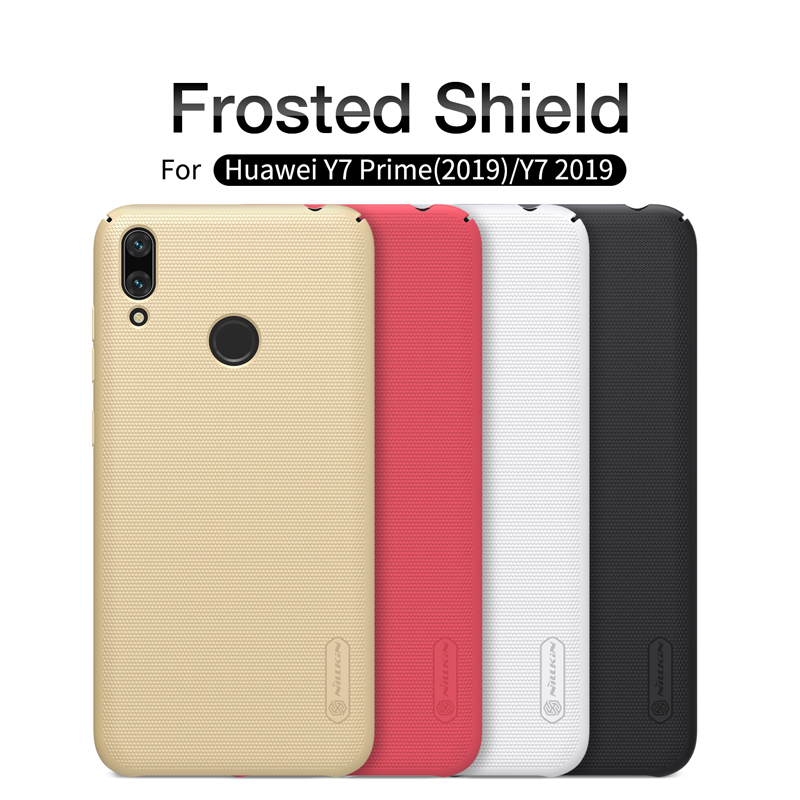 Buy Huawei Y7 2019 Case Cover NILLKIN Super Frosted shield Back Cover Huawei Y7 Prime 2019 Case Matte Shell Cover for only 8.41 USD