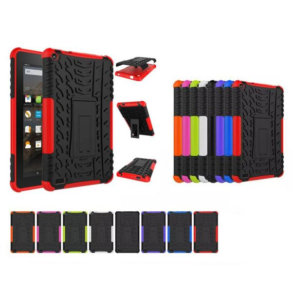 2019 Hot Rubber Shockproof Hybrid Hard Case Cover Stand Holder For Kindle Fire HD7 2015 Drop Shipping