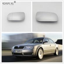 Для Skoda Superb B5 2001 2002 2003 2004 2005 2006 2007 2008 Автомобильная дверь боковое зеркало заднего вида с подогревом стекло