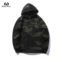 Fashion Men Camouflage Sweatshirts And Hoodies Military Fleece Male Tops Casual Pockets Autumn Winter Clothing For
