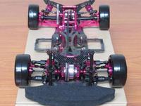OEM 1/10 Сплав & Carbon Сакура D4 AWD EP Drift гоночный автомобиль Рамка обвес RC Управление автомобиля # KIT D4AWD
