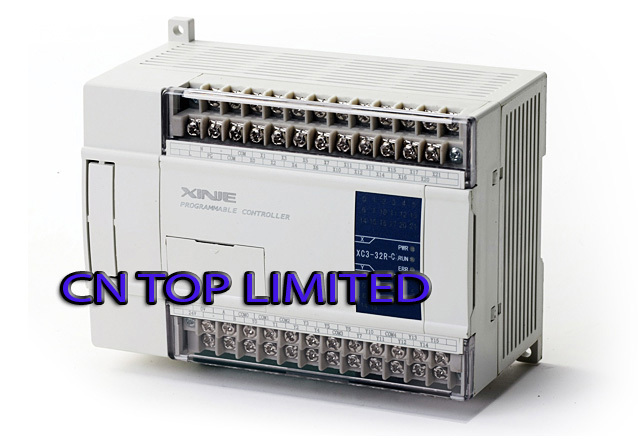 XC3-32R-C XINJE PLC CPU DC24V 18 DI NPN 14 DO Relay  with  programming cable & software New  цены