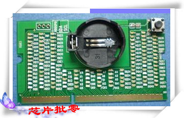 1pcs lot Laptop motherboard DDR3 memory test card light notebook DDR3 tester with light so there