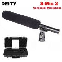 Божество S-Mic 2 трансляции Super кардиоидный конденсаторный микрофон видео низким уровнем шума направленный микрофон для профессионального ки...