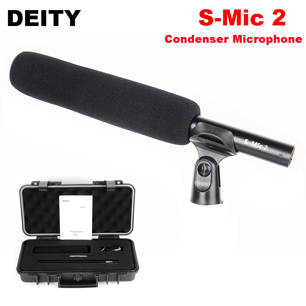 цена Deity S-Mic 2 Broadcast Super Cardioid Condenser Video Microphone Low-noise Directional Microphone for Professional Film