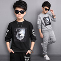 Boys Sports Suit For 5 6 7 8 9 10 11 12 13 14 Years Baby Boy Chothing Set Spring T-shirt + Pant Boys Set Ensemble Garcon Marque
