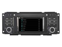 wince6.0 car dvd play GPS navigation for Chrysler Voyager Jeep Dodge headunit autoradio stereo multimedia audio BT FM camera map