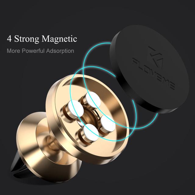 Magnetic Car Phone Holder 360