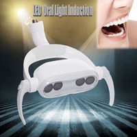 Dental Oral Light Lamp LED Induction for Clinic Dental Chair Light Joint 22mm Dental Clinic Dentistry Lamp 4 Bulb