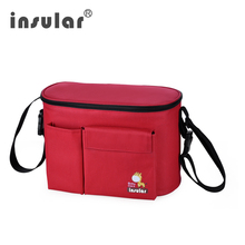 Insular Baby Diaper Bag For Stroller Thermal Travel Backpack Cooler Insulated Mother Maternity Changing