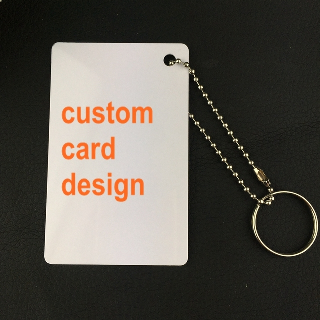 200pcs custom name card business plastic pvc 85554mm hole card 200pcs custom name card business plastic pvc 85554mm hole card 076mm name badge reheart Gallery