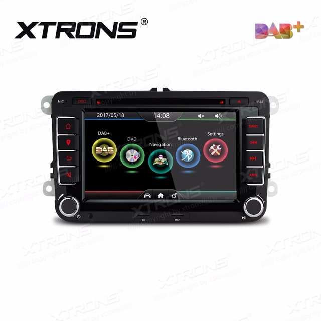 xtrons 7 inch car dvd player 2 din radio dab+ canbus gps navigation