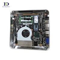 Free Shipping With HDMI VGA DP Small Fan Mini PC Core i7 7700HQ 6700HQ i5 6300HQ Mirco Nettop Computer 32G DDR4 Desktop mini pc