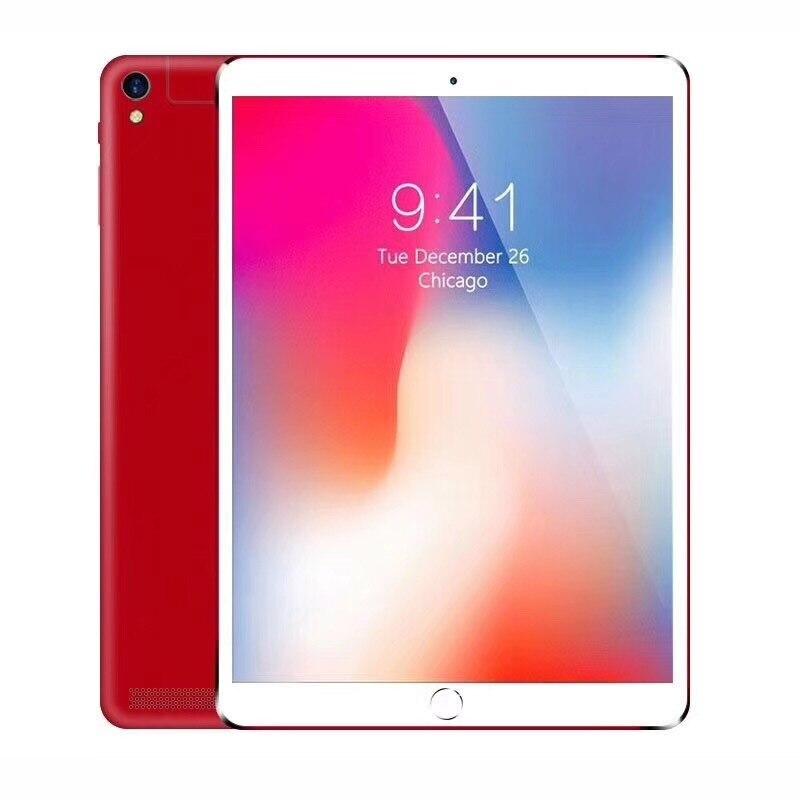 2018 NOUVEAU Octa Core 3G Tablet PC 4 GB RAM 32 GB ROM Double caméras 8MP Android Tablet 10.1 pouce P80 Ultra mince en métal shell ordinateur