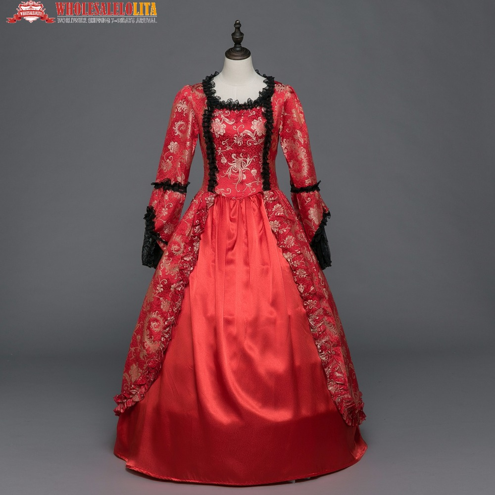 Victorian Southern Belle Vintage Alice in Wonderland Dress Princess Theater  Halloween Costume-in Scary Costumes from Novelty   Special Use on  Aliexpress.com ... fc96f5a56209