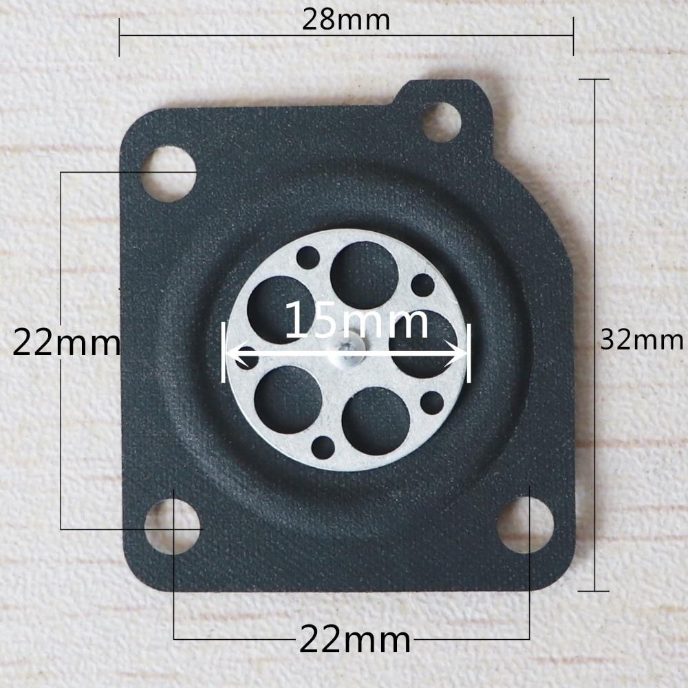 20 vnt. * Matavimo membranos tarpiklis ZAMA grandininiam pjūklui - Sodo įrankiai - Nuotrauka 3