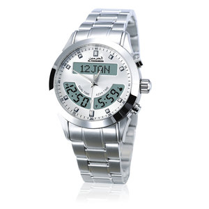 Image 4 - 100% מקור חדש אזאן שעון האסלאמי Qibla Qatch עם שעון מצפן תפילה אסלאמיות הטובות ביותר מתנות, לבן חיוג