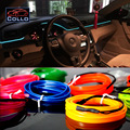 Newest Car Decoration Cold Light Atmosphere Lamp / 3 Meter EL Wire For All Cars / Car Central Control Desk Decorative Strip