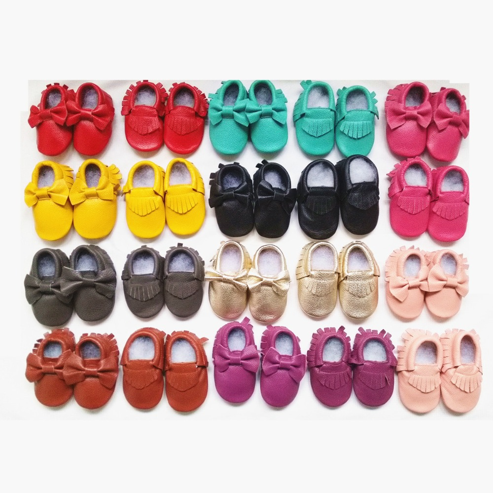 Genuine-Leather-Baby-moccasins-soft-baby-shoes-First-Walkers-indoor-Infant-bow-fringe-Toddler-Shoes-free-shipping-2
