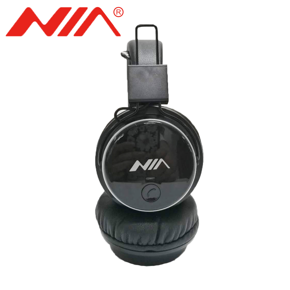 Original NIA Q8 Stereo bluetooth headphone wireless sport Foldable Headsets with Microphone recharagable foldable bluetooth headphones wireless bluetooth headsets stereo headphone with receiver usb for ps4 game