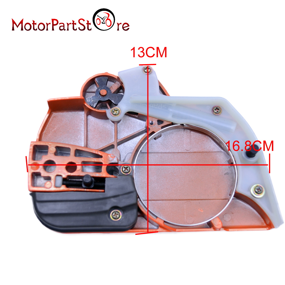 Husqvarne Chain Brake Clutch Side Cover 445 450 Chainsaw Spare Part # 544097901